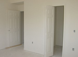 The master bedroom - 8 weeks left