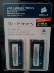 4GB, Baby! 2GB more than my desktop...