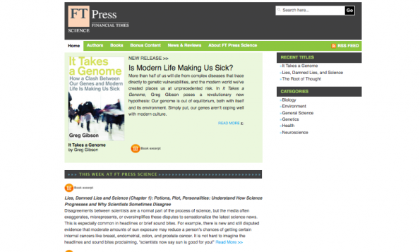 FTPressScience.com