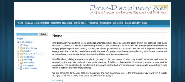 Inter-Disciplinary.net